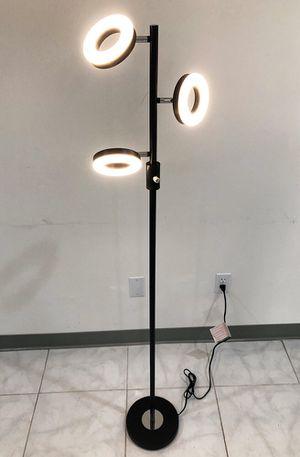 New $30 LED 3-Light Floor Lamp 5ft Tall Adjustable Tilt Lighting Fixture Home Decor Office for Sale in Whittier, CA