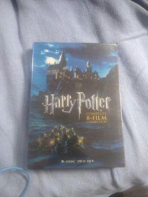 Harry Potter 8 disc DVD set for Sale in Manassas, VA
