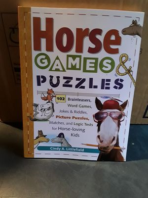 Horse book with games and puzzles about horses. for Sale in Linden, PA