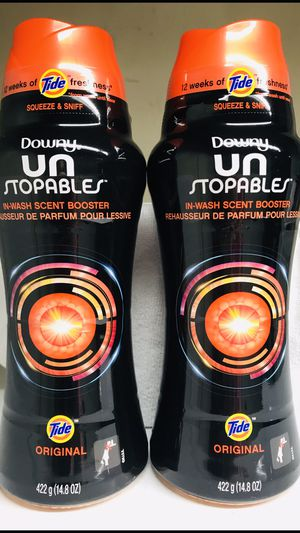 DOWNY UNSTOPPABLES IN WASH SCENT BOOSTERS 2-FOR $16 for Sale in Redondo Beach, CA