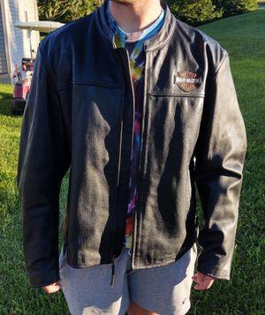 Harley Davidson Leather Motorcycle Jacket, 3X for Sale in Fort Defiance, VA