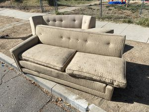 Free couches for Sale in Hemet, CA