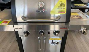 New Char-Broil Stainless Steel BBQ Grill 1B for Sale in Dallas, TX