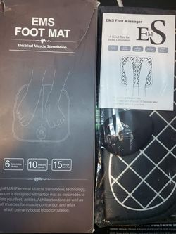 Foot Mat Eletrical Muscle Stimulation for Sale in Las Vegas,  NV