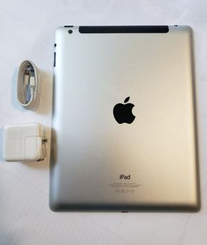 Apple iPad 4, 4th Generation 16GB -Wi-Fi + Cellular UNLOCKED Any Carrier Any Country Excellent Condition for Sale in Springfield, VA