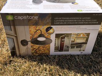LED Outdoor Gooseneck Light Brand New for Sale in Taylorsville,  UT