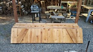 Custom single wide cedar garage doors 8' X 8' for Sale in SNOQUALMIE PASS, WA
