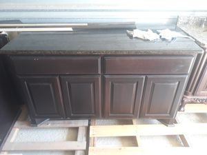 Kitchen island with granite for Sale in Houston, TX