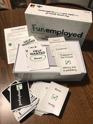 Funemployed party board game for Sale in Maitland, FL