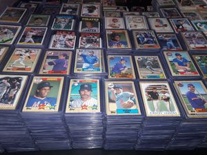 Baseball Football Basketball Card Collection for Sale in Brook Park, OH