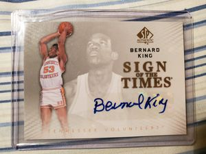 Bernard King Sign of the Times 2013 Upper Deck 53 for Sale in Alhambra, CA