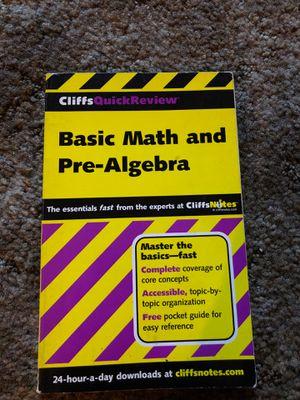 Basic Math and Pre-Algebra for Sale in Garden Grove, CA