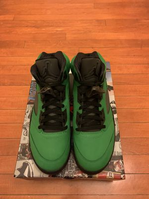 Air Jordan Apple Green 5 SIZE 11 DS for Sale in Revere, MA