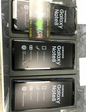 Samsung Galaxy Note 8 unlocked new phone. for Sale in Silver Spring, MD