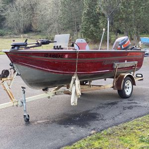16' SmokerCraft Aluminum Fishing Boat for Sale in Oregon City, OR