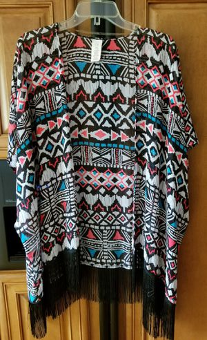 OP colorful Aztec pattern kimono for Sale in Schererville, IN