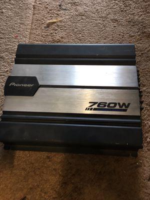 Pioneer 760watt amp monoblock for Sale in Huntington Beach, CA
