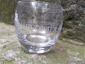 Vintage Courvoisier drinking bar glass for Sale in Houston, TX