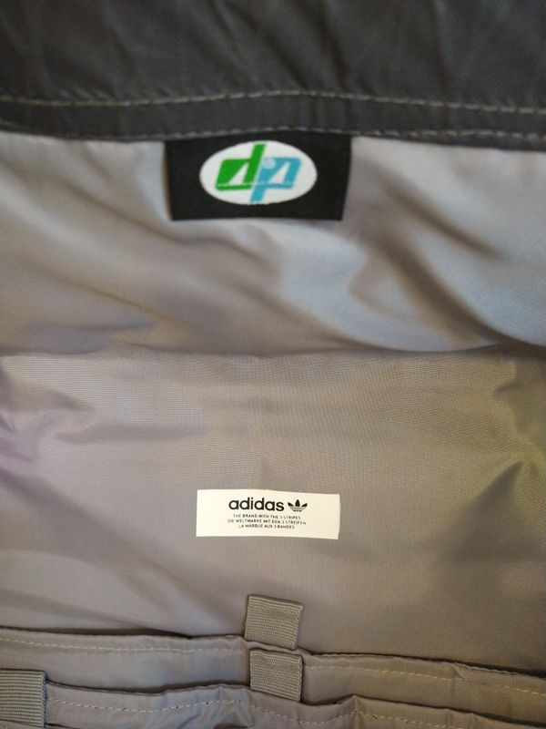 New ADIDAS Future Roll-Top Backpack Grey Five (ED4708) [$120 Retail]