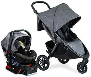 NEW Britax B-Free Travel System with B-Safe Ultra Infant Car Seat, Vibe for Sale in Sacramento, CA