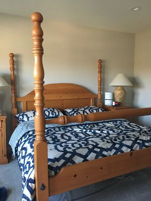 Headboard and Footboard Eastern King Bed Frame for Sale in Mission Viejo, CA