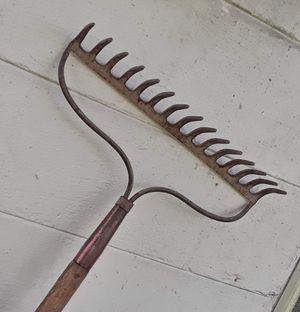 Steel rake for Sale in Lakeland, FL