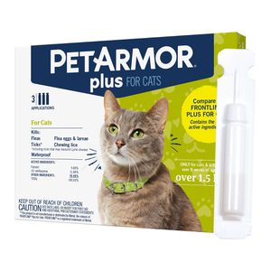 Pet Armor Plus Cat Flea Drops Pet-Armor PetArmor Plus for Sale in Pico Rivera, CA