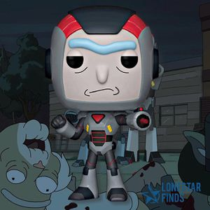 Funko Pop! Animation Rick & Morty Purge Suit Rick Vinyl Toy Collectible Figure for Sale in Converse, TX