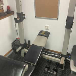 Gold Gym Pro Series Olympic Bench for Sale in Park City, IL