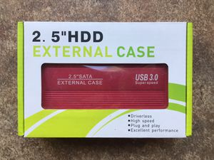 Hard Drive Enclosure Disk - Brand New for Sale in Hudson, FL