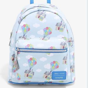 LOUNGEFLY DISNEY PIXAR UP HOUSE BALLOONS MINI BACKPACK for Sale in South El Monte, CA