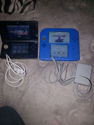Ds 3D. And Nintendo for Sale in Austin, TX