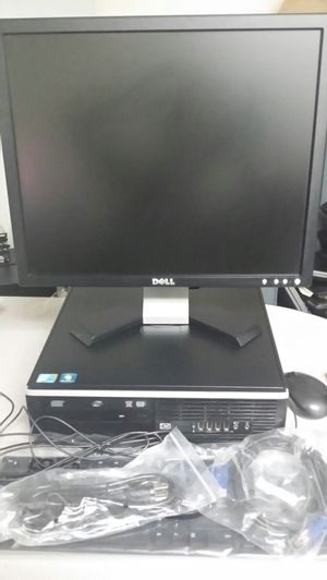 Hp intel core 2 Duo 4 GB RAM 250 GB HDD Windows 7 PRO; Keyboard; mouse ;Monitor included.(Available 200 desktop ) for Sale in Reston, VA