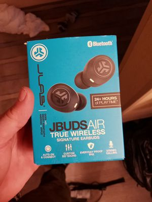 JBUDS AIR TRUE WIRELESS BLUETOOTH EARBUDS for Sale in Portland, OR