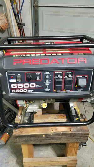 Generator predator 6500 for Sale in Escondido, CA