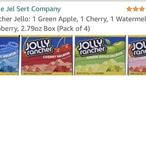 Jolly Rancher Jello 4 Of Them for Sale in Upland, CA