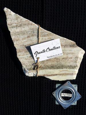 Fantasy Brown - Raw Edge Granite - 16x9 for Sale in Pataskala, OH