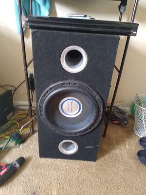 1/12 inch power acoustik 2500 watts speaker for Sale in Philadelphia, PA