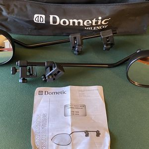 Dometic DM-2899 Extended Truck Mirrors for Towing for Sale in Seattle, WA
