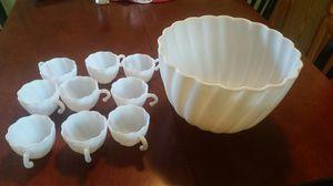 Vintage Punch Bowl Set for Sale in UNIVERSITY PA, MD