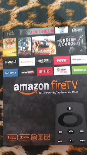 Amazon Fire TV 1st Generation CL1130 for Sale in Methuen, MA