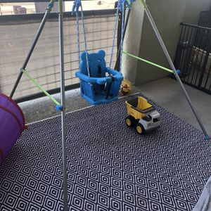 Blue Baby Swing PRICE FIRM for Sale in Las Vegas, NV