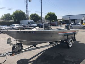 RARE 1986 16ft Gregor SeaHawk II 50 HP 2 Stroke Mercury for Sale in Montebello, CA