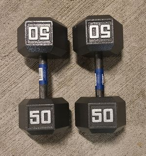 100lbs dumbbell set for Sale in Bothell, WA