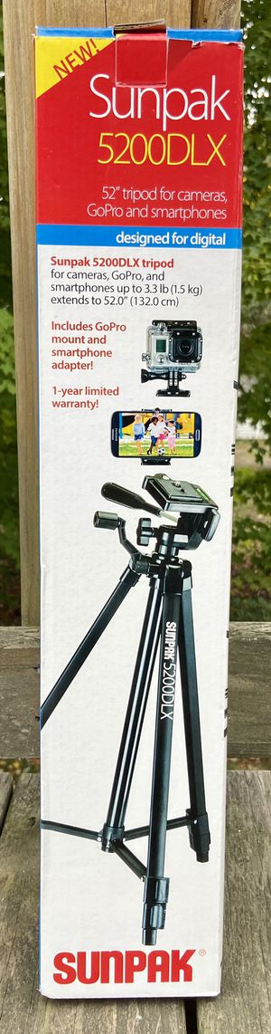 Tripod for cameras, GoPro, and smartphones for Sale in Pepperell, MA