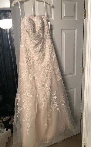 Sweetheart Aline Ivory wedding dress for Sale in Sudley Springs, VA