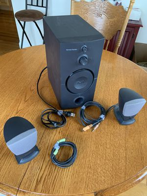 Harman-Kardon 30 watt speaker system for Sale in Vernon, CT