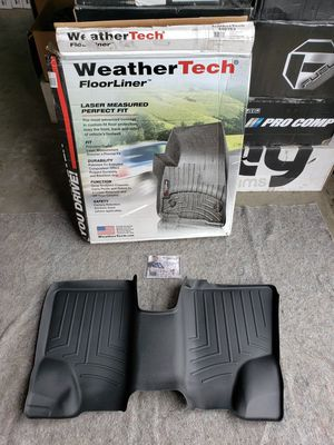 07-12 Mercedes GL Class Weathertech 3rd Row Black Molded Floor Liner for Sale in Corona, CA