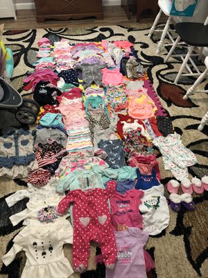 Newborn to 6month baby girl clothes for Sale in Virginia Beach, VA