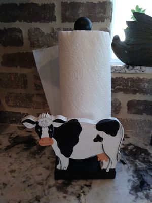 Farmhouse paper towel holder for Sale in San Jacinto, CA